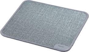 Купить <b>Коврик</b> для мыши <b>HAMA Textile Design</b>, серый в интернет ...