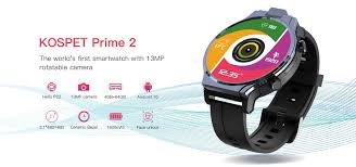 <b>Kospet Prime 2</b> 4G smartwatch available at a discount price of $194 ...