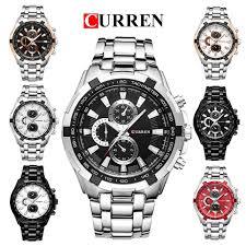 <b>CURREN 8023 Men's</b> Waterproof Luxury Business Style <b>Watch</b> ...