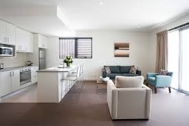 Small Kitchen Living Room Modern Open Living Room Kitchen Apartment Interior Design Ideas