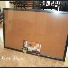 interesting cork bulletin board background with black frame with tile flooring and home office design bulletin board design office