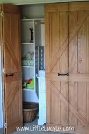 Closet Barn Doors 25 Best Barn Doors For Closets Ideas On Pinterest Sliding Barn