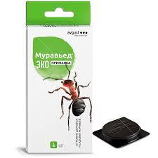 <b>Инсектицид от муравьев Муравьед</b> ЭКО приманка, 4х1.5 г, Avgust ...