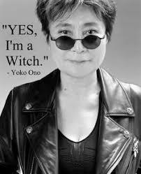 yoko ono czarownica