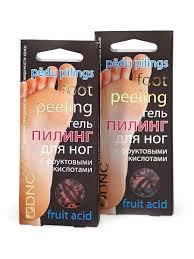<b>Гель для ног с</b> фруктовыми кислотами (пилинг). Набор из 2 шт ...