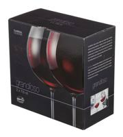 """<b>Набор бокалов</b> для вина """"<b>Grandioso</b>"""" из 2 шт. <b>Crystalex</b> 710 мл ..."""