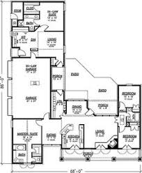 ideas about In Law Suite on Pinterest   House plans  Floor    House    car garage and full in law apartment  Multi generation