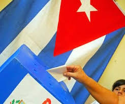 Resultado de imagen de elecciones en cuba + fotos
