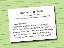 how to write an objective for a resume for first job cv builder how to write an objective for a resume for first job how to write a resume