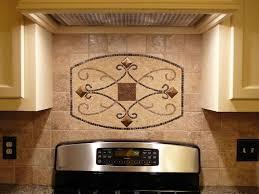 Ceiling Tiles For Kitchen Metal Backsplash White Glass Metal Backsplash Tile Luna Pearl