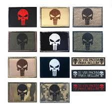 Купить Оптом <b>Punisher</b> Patch The Tactical Военные Патчи <b>Значки</b> ...