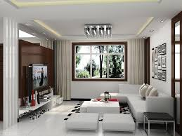 best modern living room designs: black leather arms lounge sofa sitting room decor pictures