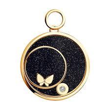 Золотая <b>подвеска</b> charm с <b>бабочкой</b> арт. 1030428 от <b>SOKOLOV</b>