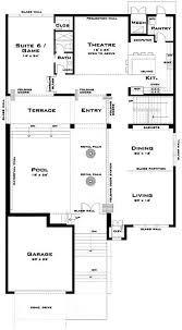 A Modern Delight  House Plan   Luxury from The Plan CollectionLuxurious Modern House Plans