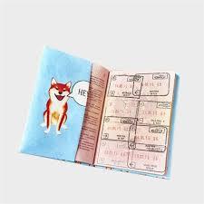 Обложка на паспорт NEW WALLET- New Shiba ... - Бордшоп#1