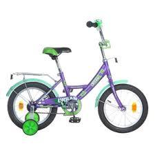 Детский <b>велосипед Novatrack 14 URBAN</b>, фиолетовый — купить ...