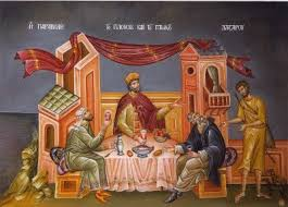Bogatul nemilostiv si saracul Lazar