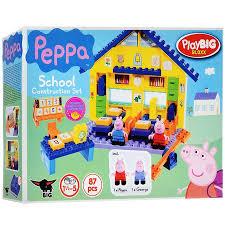 Play Big <b>Конструктор</b> Peppa Pig Школа купить Детские ...