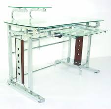 glass computer desk with amazing modern home design with foxy appearance amazing cool designer glass desks home
