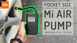 <b>Xiaomi</b> Air pump - Tested on everything that inflates! - YouTube