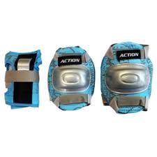 """«<b>Комплект</b> защиты """"Action"""", для катания на роликах, цвет: синий ..."""