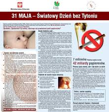 Znalezione obrazy dla zapytania 31 maja dzienbez tytoniu