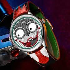Russian clown watch men's casual fashion waterproof quartz ... - Vova