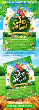 easter egg hunt flyer template vol 2 by 4ustudio graphicriver easter egg hunt flyer template vol 2 holidays events