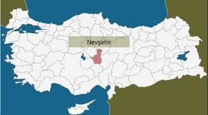 Image result for nevşehir haritası