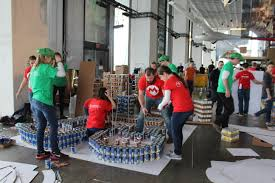 blog capital region canstruction congratulations to the team and thanks for your dedication if you d like to see them win the 2016 people s choice award bring cans to the museum and