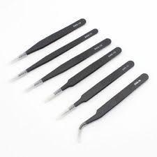 Reviews: <b>6pcs</b>-<b>ESD</b>-<b>Anti-static</b>-<b>Stainless</b>-Steel-Tweezers-Set ...