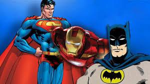 superman batman ironman tomorrowland batman superman iron man