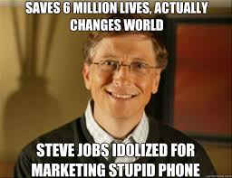 SAVES 6 MILLION LIVES, ACTUALLY CHANGES WORLD STEVE JOBS IDOLIZED ... via Relatably.com