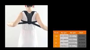 <b>Breathable Back Correction Belt</b> - YouTube