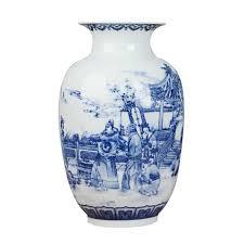 <b>Jingdezhen</b> blue and white <b>Porcelain</b> Vases Fine Bone China Vase ...