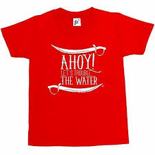 Swords & Pirates <b>Ahoy</b>! <b>Let's Trouble The</b> Water Kids Boys / Girls T ...
