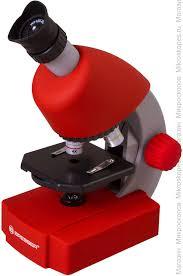 <b>Микроскоп Bresser Junior 40x-640x</b>, красный купить по цене 4 750 ...