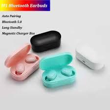 <b>TWS M1</b> Bluetooth Earbuds Mini Sports <b>True</b> Wireless Headset 5.0 ...