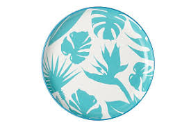 <b>Тарелка обеденная</b> Парадиз голубая <b>Christopher Vine</b> CHV655 ...