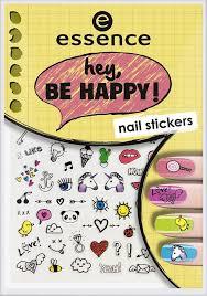 <b>Наклейки для ногтей</b> Essence Hey, be happy! <b>nail</b> stickers, №05, 5 г