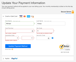 a ux analysis of credit card uis mike knoop found behind a link titled update payment info under your account in the main menu netflix s card form is simple and to the point