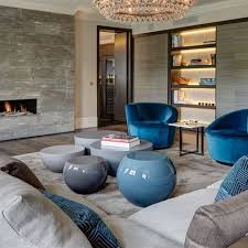 ideas contemporary living room: knightsbridge penthouse contemporary living room london staffan tollgard design group london land