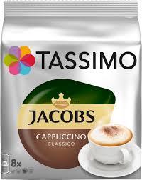 <b>Кофе</b> в капсулах <b>Tassimo</b> Cappuccino, 8 порций (16 капсул ...