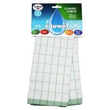 """<b>Полотенце кухонное</b> E-cloth """"Классическая клетка"""", зеленое ..."""