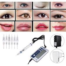 Makeup Digital Pen <b>Eyebrow Lip Eyeliner</b> Machine Kit | Shopee ...