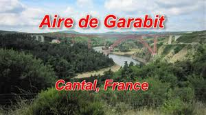 Aire de repos de Garabit, A 75, Cantal, France - YouTube