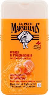 Купить <b>Гель</b>-<b>пена для душа</b> Le Petit Marseillais Грейпфрут и ...