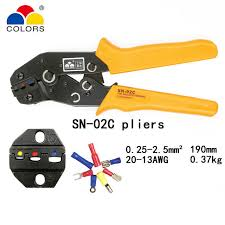 Online Shop SN-28B crimping <b>pliers</b> 10 jaws for TAB 2.8 <b>4.8 6.3</b>/C3 ...