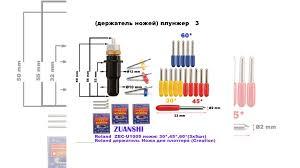 <b>Ножи плоттера</b> с <b>держателем</b> Roland,Creation,copam купить в ...
