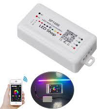 SP108E wifi WS2811 WS2812B Led Music Controller SP107E ...